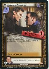 Buffy CCG TCG Angels Curse Unlimited Edition Card #32 Unwelcome Surprise