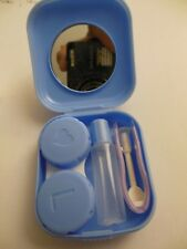 Contact Lens Storage case ** Travel Kit ** BLUE **  Free  Shipping