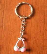 key ring silver top swimsuit pink