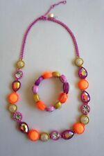 NWOT Crewcuts Necklace and Bracelet Set