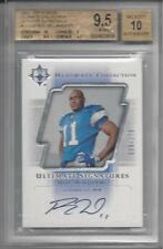 ROY WILLIAMS 2004 ULTIMATE COLLECTION SIGNATURES ON CARD RC AUTO #D /275 BGS 9.5