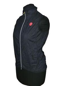 Castelli Squadra womens Lightweight Cycling Vest Size L Windstopper