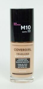 Covergirl Trublend Matte Made or Regular Foundation Makeup 1 FL OZ  Pick One