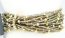 NWT Fashion Carol Dauplaise Stretch Seed Beed Multi Strand Bracelet