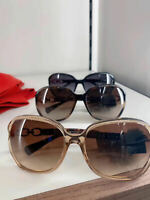 NEW Coach Kissing C Square Women's Sunglasses with Case L949/ L948