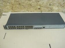 24 Port Gigabit-Switch HP / 3com 2928 - SFP Plus | 3CRBSG2893 4 10/100/1000-Port