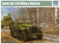 Trumpeter 1/35 Soviet GAZ-67B Military Vehicle # 02346