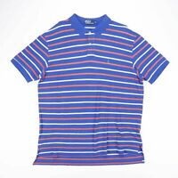 Vintage POLO RALPH LAUREN Striped Casual Polo Shirt Size Mens 2XL