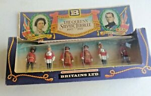 1976 Britains Silver Jubilee #7225 Traditional Models In Solid Metal