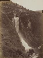 FRATELLI ALINARI Umkreis, Großer Wasserfall von Tivoli, um 1880, Fotografie
