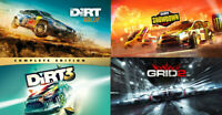 Dirt 3 Complete + Grid 2 + Dirt Rally + Dirt Showdown | Steam Key | Worldwide |