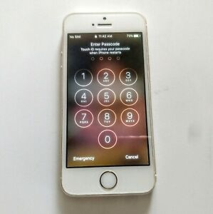 Apple iPhone 5s A1533 Gold 32GB CLEAN ESN IMEI No Cracks