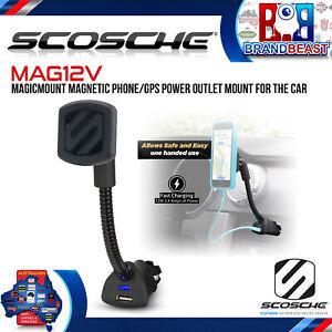 Scosche MAG12V MagicMount Power for Car