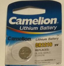 5 X Camelion CR 1225 Cr1225 Lithium Button Cell 3v Battery Bags Rechner