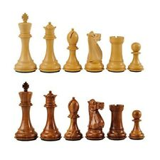 Wooden Chess Set Pieces - Small, Standard Or Large + Free PVC Board