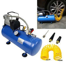 Secuda 8L Heavy Duty 12v Portable Air Compressor 4x4 Tyre Pump