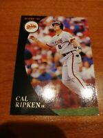 Cal Ripken Jr. 1994 Score Burger King Gold Parallel Oddball #6 Hof Orioles