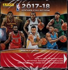 2017 2018 Panini NBA Basketball Sticker Collection Unopened Box 350 Stickers