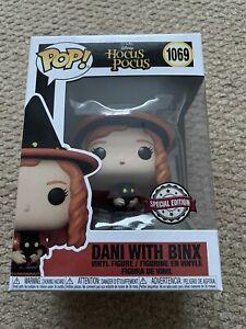 Funko Pop Disney Hocus Pocus Dani With Binx 1069