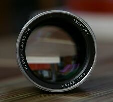 Used Zeiss 85mm f/1.4 ZK K Mount MF Lens Made in Japan