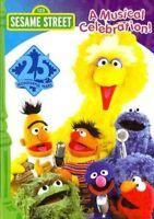 Sesame Street 25th Birthday - A Musical Celebration - Region 1 - Great For Kids