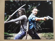 """Andrew Lincoln, Danai Gurira Signed /Autographed Photo """"Walking Dead"""""""