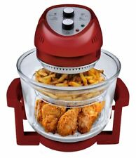 Big Boss Air Fryer 16 Qt. (1300 Watt) Oil-less Air Fryer with Built-In Timer Red