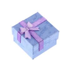 RINGSCHACHTEL Geschenkbox RINGETUI Schmuckschachtel SCHMUCKETUI Schmuckbox  LILA