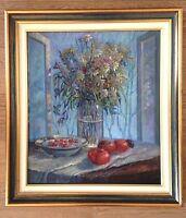 Superbe huile sur toile signée S.Tchoumakov, Ecole Russe1997.