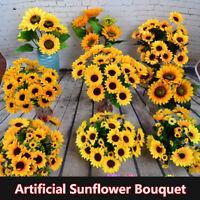 en soie Fleur artificielle Faux bouquet de flores Décoration de mariage