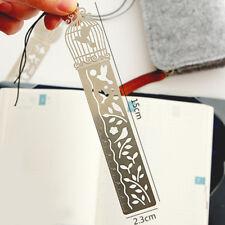 Creative  Metal Bookmark Ruler Student School Supplies LKI