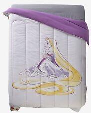 Disney Tangled Rapunzel Floral Microfiber Full/Queen Comforter Rare NIP!