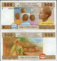 CENTRAL AFRICAN STATE GUINEA 500 FRANCS 2002 P 506 Fc  UNC