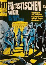 SILVER AGE + HIT COMICS + GERMAN + 117 + FANTASTIC FOUR + STAN LEE + 1969 +