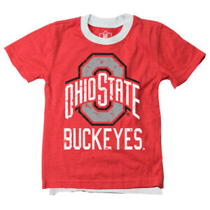NWT Boy's Wes and Willy Ohio Buckeyes Red Tee $26