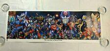 Transformers 2015 BotCon Journey to Nexus Prime Lithograph Print Poster SADV05