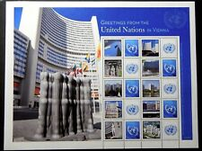 United Nations Vienna 557 Complete MNH sheet from 2015