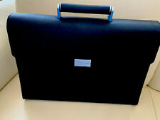 Porsche Design French Classic 4.0 bolsa briefbag maletín MHF negro de cuero