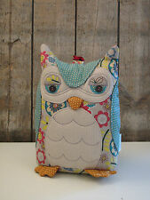 Ulster Weavers - Türstopper - Owl / Eule - ca. 1,5 kg - bunt - Blumen - NEU
