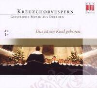 R. KREILE / DRESDNER KREUZCHOR - UNS IST EIN KIND GEBOREN  CD  16 TRACKS  NEU