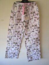Ladies Peter Alexander flannelette pj classic pants jungle animal  Size XXS