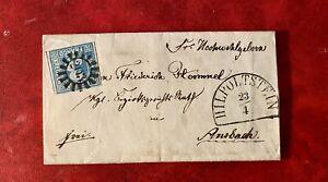 Bayern Bavaria 1867 Letter Nice Cancels
