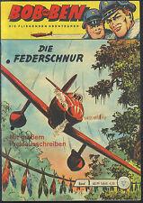 Bob und Ben Nr.1 von 1963 mit Sammelmarke - ORIGINAL LEHNING FLIEGER COMICHEFT