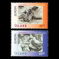"""Iceland 1997 - Europa stamps """"Legends and fairytales"""" - Sc 844/5 MNH"""