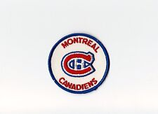 """Vintage Early 1970s NHL Montreal Canadiens 3"""" Round Patch (sew on)"""