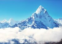 A4| Mount Everest Poster Size A4 Himalayas Mountain Climbing Poster Gift #15689