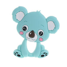 Safety Food Grade Silicone koala Baby Teething Chew Toy Teether Grind Baby Teeth