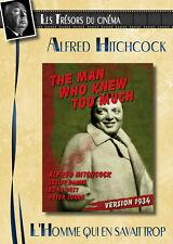 DVD L'homme qui en savait trop - Alfred Hitchcock