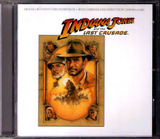 Indiana Jones and the Last croisade john williams OST CD BANDE ORIGINALE spielberg NEUF