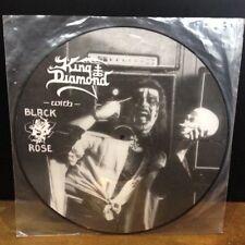 KING DIAMOND with BLACK ROSE 20 years ago Pic disc LP mercyful fate bratz DEVIL